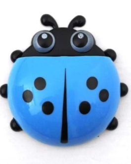 Ladybug Toothbrush Holder – Blue